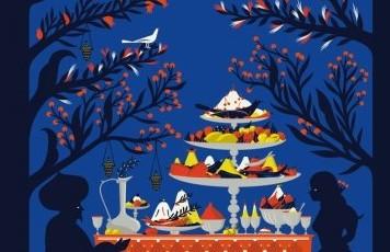 hammam bleu a tavola